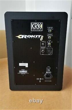 KRK Rokit RP8 G3 DJ Professional Active Powered Studio monitors, Pair, mint
