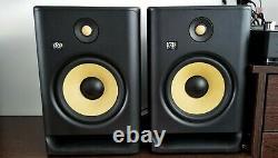 KRK Rokit RP8 G4 DJ Professional Active Powered Studio monitors, Pair, mint