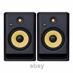 KRK Rokit RP8 G4 Pair 8 Two-way Active Powered DJ Studio Monitor Speakers