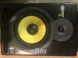 KRK Rokit RP8 Professional Active Powered 8 DJ Studio Monitor Speaker (Pair)