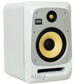 KRK V8S4 8 Powered Studio Monitors (Pair) White