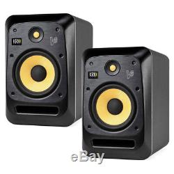 KRK V8S4 V8 Series 4 8 2-Way Powered Reference Monitor Pair NEW