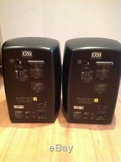 KRK VXT8 Active Powered 8 Studio Monitor Speakers Pair