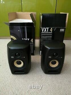 KRK VXT 4 Powered Studio Reference Monitors (Pair) 2 monitors