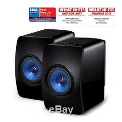 Kef LS50 Wireless Speakers RRP £2000 Active Powered Bluetooth Pair Black