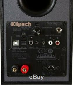 Klipsch R-41PM Active Reference Speakers PAIR Powered Home Loudspeakers