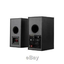 Klipsch R-41PM Powered Active Bookshelf Speakers, Pair, NEW