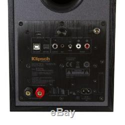 Klipsch R-51PM Powered Active Bookshelf Speakers, Pair, NEW