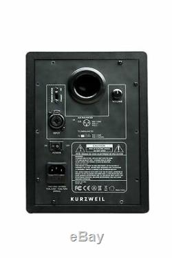 Kurzweil KS-50A Powered Studio Monitor Pair 5 Compact 60W
