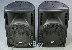LD Systems LDPN152A 300Wrms Active / Powered 15 Speakers Pair