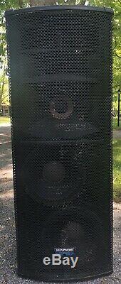 MACKIE SA1232z Powered PA SPEAKERS (Pair)