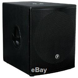 MACKIE SRM1801 18 Powered Subwoofer PAIR with Mackie Branded Covers