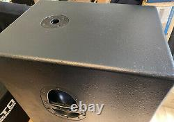 MACKIE SRS1500 ITALIAN PAIR 15 Powered SUBS For SRM450 Etc SWA1501