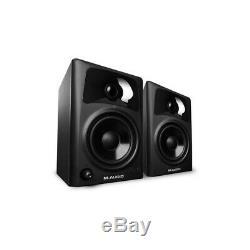 M-Audio AV42 Active Powered Studio Desktop Reference Monitor Speakers PAIR