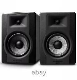 M-Audio BX5 D3 Pair 2-Way 5 Active Powered Studio Monitors Black