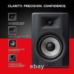 M-Audio BX5 D3 Pair Compact 2-Way 5 Inch Active Studio Monitors / Loudspeakers