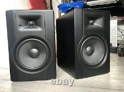 M-Audio BX8 D3 Active Powered Studio 8 inch Monitors Pair
