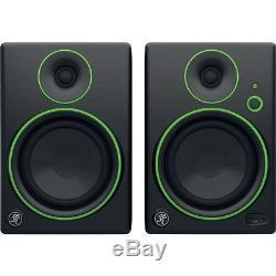 Mackie CR5BT Pair 5 Inch Wireless Bluetooth Active Studio Monitors 50 Watts