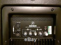 Mackie HD1521 Active Powered Loudspeakers (Pair)