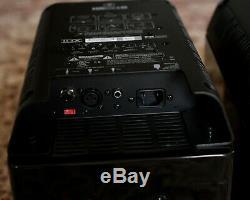 Mackie HR624mk2 6 Powered Studio Monitor Pair Piano Black THX certified