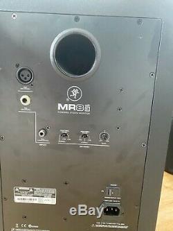 Mackie MR8 MK3 8 Full-Range Reference Active Powered DJ Studio Monitor (Pair)