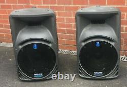 Mackie SRM450 Portable Active Powered Speakers Pair