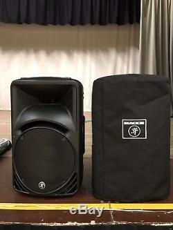 Mackie SRM450v2 Powered Speakers (Pair) With Hot Covers