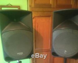 Mackie Thump 15a Powered PA System. Refurbished Condition Pair