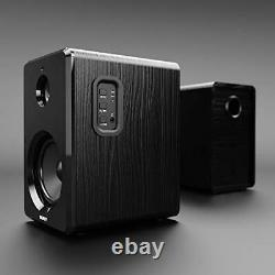 Majority D40 Bluetooth Active Pair Of Powered Bookshelf Speakers With Remote