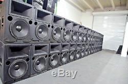 Meyer Sound CQ2 Narrow Coverage Self Powered Loudspeakers (PAIR)