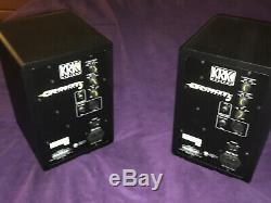 NICE! Barely Used KRK Rokit 5 G3 Powered Studio Monitors Black (Pair)