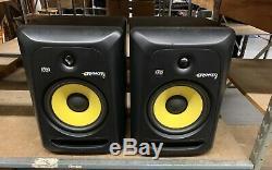New Open Box KRK ROKIT 8 G3 8 Powered Studio Monitor Black (Pair)