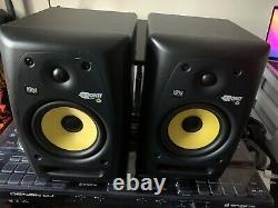 Original KRK Rokit Powered 6 Speaker Monitors (PAIR)