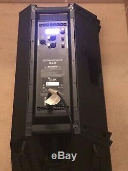 PAIR EV Electro Voice ZLX12P Active 1000 Watt Class D Powered Speakers