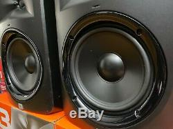 PAIR JBL LSR308 8 series 3 2Way Active Powered Studio Reference Monitor Speaker