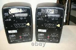 PAIR KRK Systems VXT4 4 2Way Studio Monitor Active Powered Precision Speakers