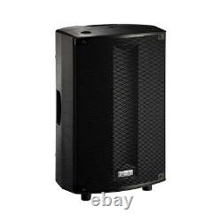 PAIR USED FBT ProMaxX 114A Active Powered Speakers 40603 inc padded covers