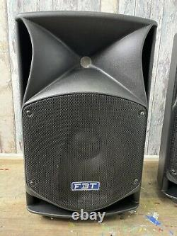 PAIR USED FBT ProMaxx 14a Active Powered Speakers VGC (No covers)