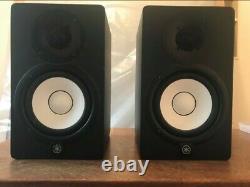 PAIR Yamaha HS5 Active Powered Monitor Speakers BLACK USED MONITORS MIXING MUSIC