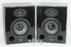 PAIR of EVENT ASP6 Powered Studio Precision ASP 6 Speakers Studio Monitors