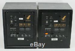 PAIR of EVENT ASP6 Powered Studio Precision ASP 6 Speakers Studio Monitors #1528