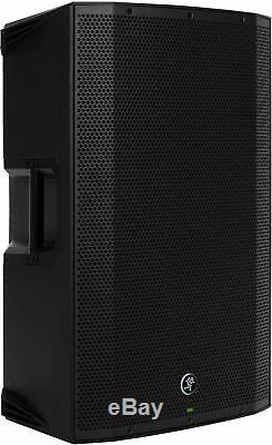 PAIR of Mackie Thump 12BST Boosted 1300W Powered Speakers FREE Stands +Cables