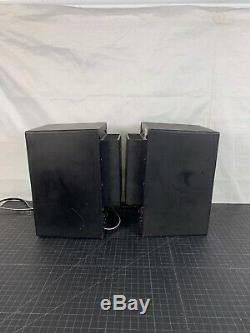 PAIR of Yamaha MSP5 Studio Monitors POWERED Speakers