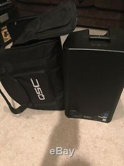 Pair (2) Qsc K10.2 Speakers With Qsc Tote Bags And Power Cords