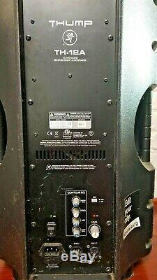 Pair(2) of Mackie Thump12 1000W Powered PA Speaker w 3 way EQ