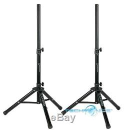 Pair Alphasonik All-in-one 12 Powered 1500w Pro Dj Amplified Loud Speakers