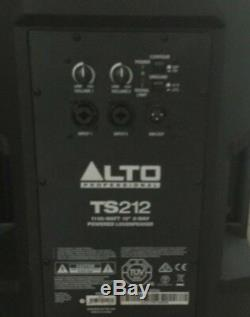 Pair Alto TS212 Powered Active PA Speakers in Boxes FRFR Used For