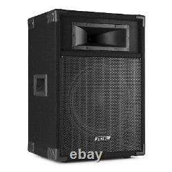 Pair CSB 12 Active DJ Speakers PA Sound System and Built-in 600w High Power Amp
