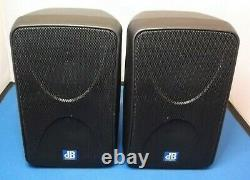 Pair DB Technologies K70 Active Powered Personal Monitor Speakers VAT included
