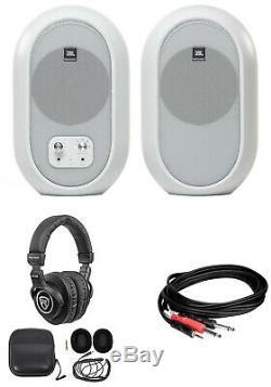 Pair JBL 104 Powered Studio Reference Monitors withBluetooth+Headphones 104SET-BTW